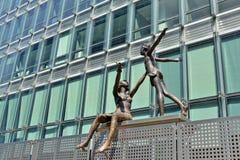European Quarter of Brussels Stock Images