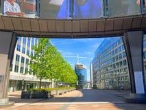 European quarter in Brussels, Belgium Stock Image