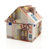 European Real Estate. On the white background stock image