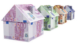 European Real Estate Royalty Free Stock Images