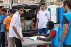 European Refugee Crisis - Kos island, Greece Stock Images