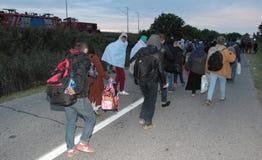 European refuges crisis Stock Images