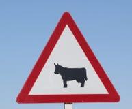 European road sign Royalty Free Stock Image