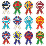 European rosettes Royalty Free Stock Image