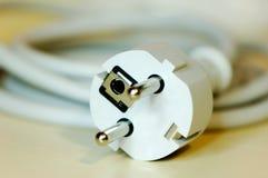 European safety plug Royalty Free Stock Photo