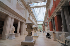 European Sculpture Hall Royalty Free Stock Images