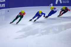 European Short Track Speed Skating championship Stock Image