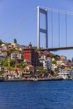 European Side of Bosphorus Bridge Stock Photography