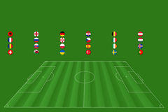 European Soccer Championship - EM 2016. Motive: European Soccer Championship - EM 2016 Stock Photography