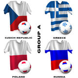 European Soccer - Group A Royalty Free Stock Photo