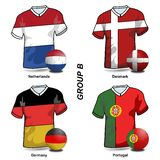 European Soccer - Group B Stock Images