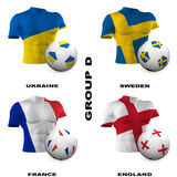 European Soccer - Group D Stock Photo
