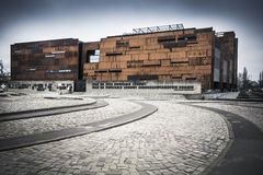 European Solidarity Centre at the Gdansk shipyard in northern Poland Royalty Free Stock Photo