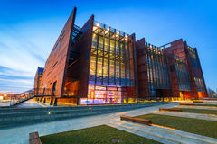 European Solidarity Museum in Gdansk Stock Photography