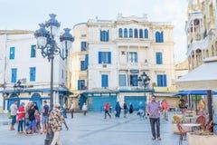 The european square Stock Photos