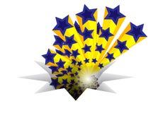 European star design Royalty Free Stock Photography