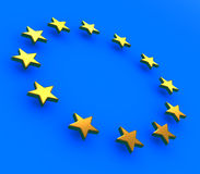 European stars Stock Photography
