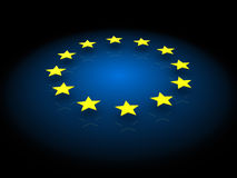 European stars background Royalty Free Stock Photo