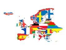 European states Royalty Free Stock Images