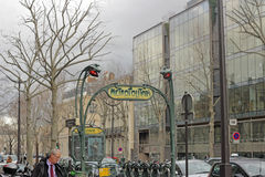 European street Royalty Free Stock Image