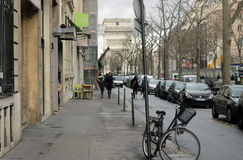 European street Royalty Free Stock Photography