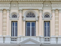 European style Arch Window Royalty Free Stock Images
