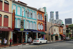European Style Architecture in Singapore Royalty Free Stock Photography