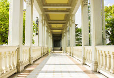 European style building corridor Royalty Free Stock Photo