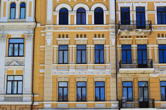 European style building exterior Stock Images