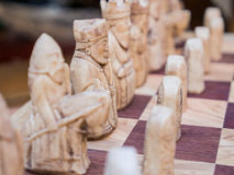 European style chess Stock Photography