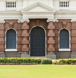 European style door and window in the Grand Palace Royalty Free Stock Photo