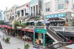 European style street Stock Photo
