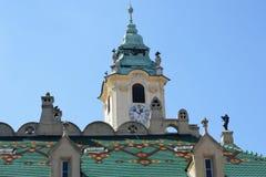 European style Town Hall Bratislava Slovakia Royalty Free Stock Photo