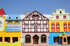 European Styled Houses Stock Images