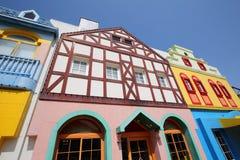 European styled houses Royalty Free Stock Photo