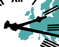 European time Stock Images