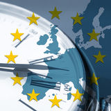 European time concept Royalty Free Stock Photo