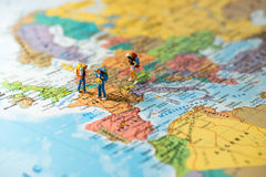 European tourism and travel concept. Royalty Free Stock Image