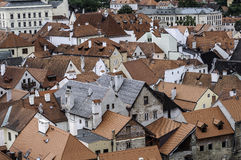 European town. Royalty Free Stock Image