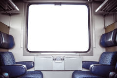 European Train Compartment Royalty Free Stock Photography