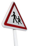 European triangle roadsign Stock Photos