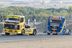 2014 European Truck Racing Championship Stock Images