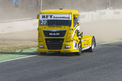 2014 European Truck Racing Championship Royalty Free Stock Image