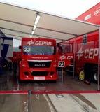 European Truck Racing Championship Royalty Free Stock Photos