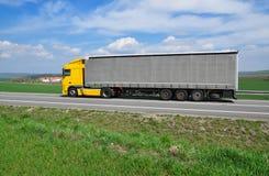 European truck Stock Photo