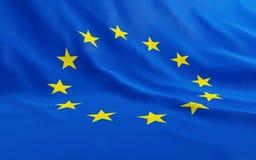 European union. Flag of the European union Stock Photography