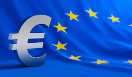 European union. Financial crisis euro Royalty Free Stock Photo