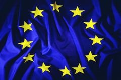 European Union. Flag of the European Union or EEC (European Economic Community Royalty Free Stock Photo