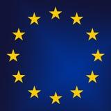 European Union. EU - European Union sign close up. Raster graphics Royalty Free Stock Image
