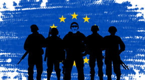 European Union army Stock Photos